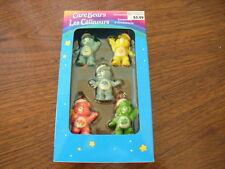 NIB American Greetings Care Bears Miniature Xmas Ornaments Set Of 5 2005 MINT