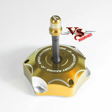 Apico Anodised Fuel Cap inc Vent Pipe SUZUKI RMZ250 10-16, RMZ450 05-16 GOLD