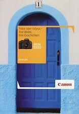 Prospekt 2010 D Canon EOS 550D Broschüre Kamera Spiegelreflexkamera brochure