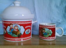 Campbell's Soup Kids Soup Tureen & Mug