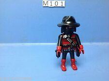 (M101) playmobil cowboy voleur western série spéciale 4620