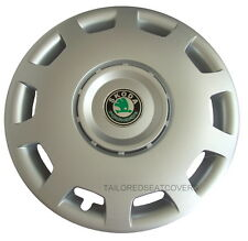 14'' Hup Cups for Skoda Fabia Felicia  wheel trims covers  4 x 14'' silver