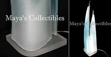 """Large Rougier Lucite Sculptural Lamp Mid Century Modern Signed 32"""""""
