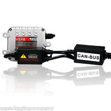 HID Xenon Kit SUPER SLIM BALLAST  No Dash Canbus Warning Error 12V 35W 55W