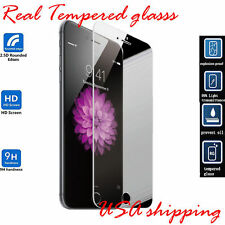 Premium Real Tempered Glass Film Screen Protector for Iphone 6 Plus USA shipping