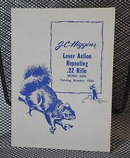 Original JC Higgins Model 46DL .22 Lever Action Rifle Owner's Manual | 103.19840