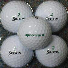 2 DOZEN AA GRADE SRIXON SOFT FEEL GOLF BALLS