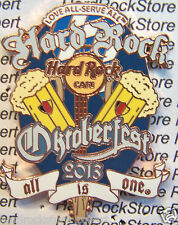 2013 HARD ROCK CAFE ONLINE OKTOBERFEST BEER MUGS/GERMAN FLAG LE PIN