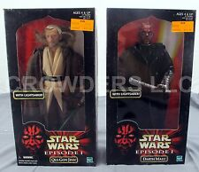 Star Wars Episode 1 Action Collection Darth Maul & Qui Gon Jinn w/ Lightsabers