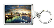 NEW YORK SUNSET KEYRING SOUVENIR LLAVERO
