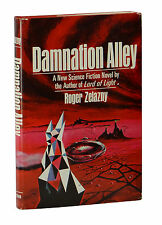 Damnation Alley ~ ROGER ZELAZNY ~ First Edition ~ 1st Printing 1969 Hardcover