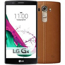 Unlocked LG G4 H810 4G LTE - 32GB - (AT&T, T-Mobile) Smartphone - Leather Brown