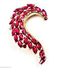 """Delicate Ear Pin Cuffs Earrings Cuff  2.5"""" Hook Over Ear Gold Tone"""