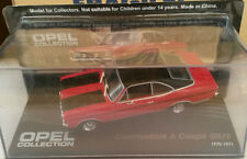 "DIE CAST "" OPEL COMMODORE A COUPE' GS/E 1970 - 1971 "" OPEL COLLECTION SCALA 1/43"