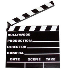 Clapperboard Directors Hollywood Film Movies Fancy Dress Prop Party Decoration