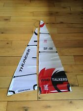 radio controlled yacht sail set thunder model boat sailing rc shunbo
