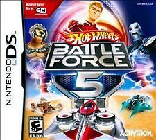 Hot Wheels: Battle Force 5 (Nintendo DS, 2009)