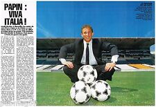 Coupure de presse Clipping 1991 (2 pages) Jean pierre Papin