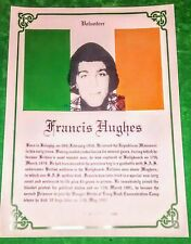 IRISH REPUBLICAN LONG KESH FRANCIS HUGHES HUNGER STRIKER MAZE PRISON SINN FEIN