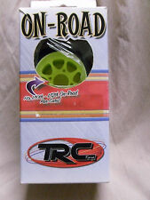 Trinity On-Road Pan Car Rear Tires (Green) # TRCTM1041