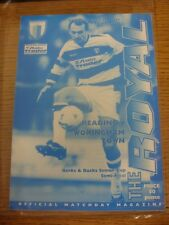 03/04/1996 Berkshire And Buckinghamshire Senior Cup Semi-Final: Reading v Woking