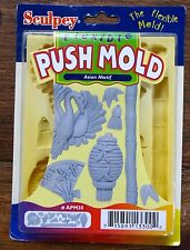 SCULPEY Flexible Push Mold for Plaster Clay Soap Wax ASIAN  MOTIF #APM30