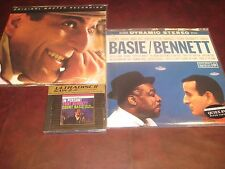 TONY BENNETT COUNT BASIE CLASSIC RECORDS 180 GRAM LP + MFSL LP 24 KARAT GOLD CD
