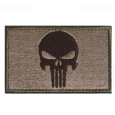 U.S Punisher Embroidery PATCH USA TACTICAL ARMY MILITARY BADGE VELCRO PATCHES