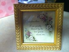 Grandmother Picture Frame With Nice Saying
