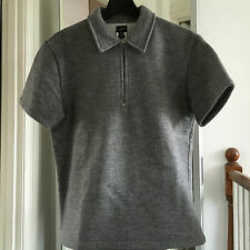 Very Cool Vintage JIL SANDER archive piece thick Wool Cotton mixed T shirt S