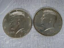 USA MÜNZEN AUS SILBER 900 - ER 2 x HALF -1/2 DOLLAR 1964