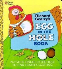 Egg in the Hole by Richard Scarry 1998 childrens preschool hard cardboard book