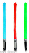 3 x Inflatable Saber Sword Laser Star Light Sticks Replica  Wars Party Toy Prop