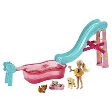 Barbie® Flippin' Pup Pool Chelsea Doll and Pet Playset