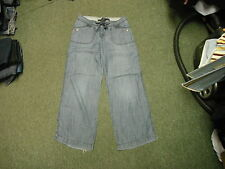 "Next Slouch Jeans Size 12R Leg 31"" Faded Dark Blue Ladies Jeans"