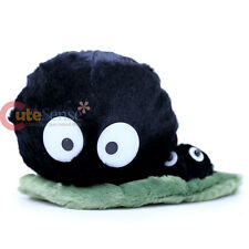 "My Neighbor Totoro Plush Doll  Dust Bunny Soot Sprite on the Leaf  5"" Haning"