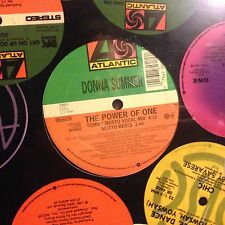 DONNA SUMMER • The Power Of One • Vinile 12 Mix • 2000 ATLANTIC