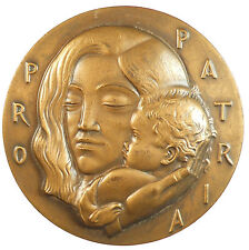 Society of Medalists 23 nude eagle PRO PATRIA - HUMANITATE. By Joseph E. Renier