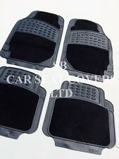 i - TO FIT A HYUNDAI IX20 CAR, DELUXE FLOOR MATS, 2210 BLACK - 4 PIECE SET