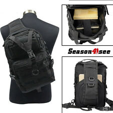 Outdoor Army Military Tactical Molle Backpack Rucksacks Camping Hiking Bags BK
