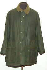 "VINTAGE JOHN PARTRIDGE WAX JACKET 46"" 112cm GREEN"