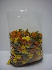 """Clear Plastic Bags 12"""" x 18""""  120g Suitable for food use - Pack 100"""