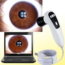 5.0MP Pro 4 LED /2 LED DigitaI Eye Iriscope Iridology USB camera Iris Software