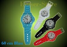 Wie Ice Watch Wall Clock Wanduhr Blau Ice Clock 60cm+Batterie Kinder-Wanduhr