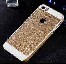 FUNDA PUNTERO PARA IPHONE 6S 6 4.7 CARCASA DORADA GOLD BLING DIAMANTE FALSOS