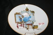 NORMAN ROCKWELL FEBUARY 13, 1960 PLATE Lot 174
