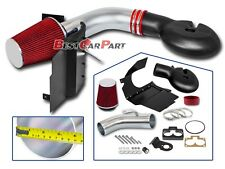 BCP RED 98-03 Durango 5.2/5.9L V8 Heat Shield Cold Air Intake Induction +Filter