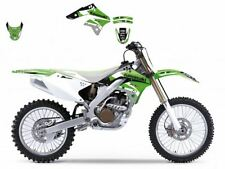 BLACKBIRD KAWASAKI KXF 250 2006 KIT GRAFICHE ADESIVI DREAM 3 VERDI NERE GRAPHIC