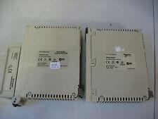SCHNEIDER TSX PREMIUM TSXDEY16D2 / 485MP+PCMCIA TSXSCY21601 MODULES **LOT OF 2**