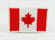 CANADA CANADIAN NATIONAL FLAG IRON/SEW ON PATCH EMBROIDERED APPLIQUE T-SHIRT HAT